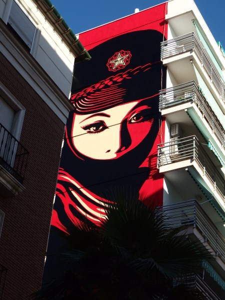 Obey in Soho Malaga