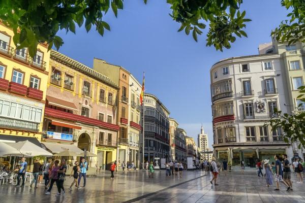 Plaza de la Constitucion Malaga