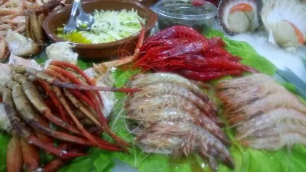 fresh fish at De Huelva Malaga