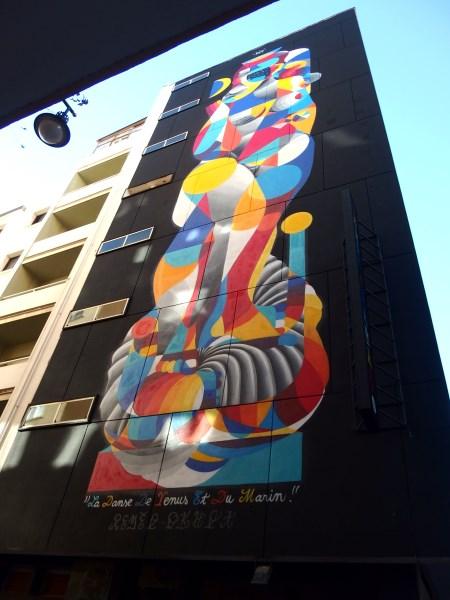 venus mural in Soho Malaga